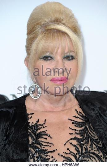 Ivana Trump Milano 20.05.2016 Stockbild