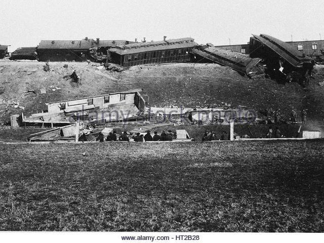 Die Borki trainieren Katastrophe am 29. Oktober 1888, 1888. Künstler: anonym Stockbild