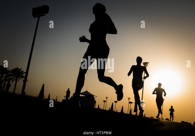 Triathlon Stockbild