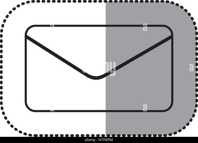 """Abbildung Symbol """"e-Mail-Nachricht"""" Stockbild"""