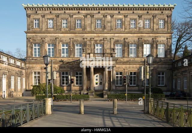 Deutschland, Nordrhein-Westfalen, Detmold, Hochschule Für Musik, Neues Palais Stockbild