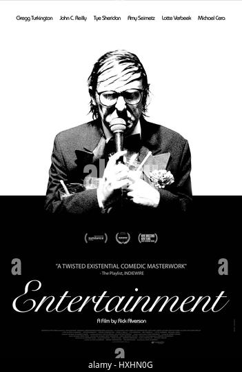 GREGG TURKINGTON POSTER ENTERTAINMENT (2015) Stockbild