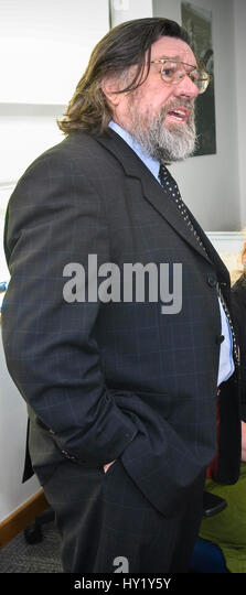 Ricky Tomlinson Schauspieler und Komiker Royle Family. Stockbild