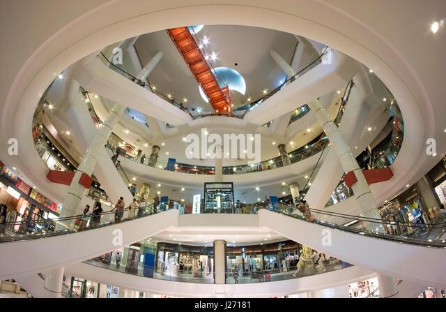 Terminal 21 Shopping-Mall, Sukhumvit Road, Bangkok, Thailand Stockbild