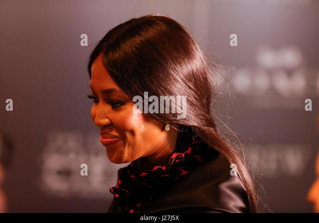 New York, USA. 25. April 2017.  Naomi Campbell besucht die 2017 mal 100 Gala im Jazz at Lincoln Center am 25. April Stockbild