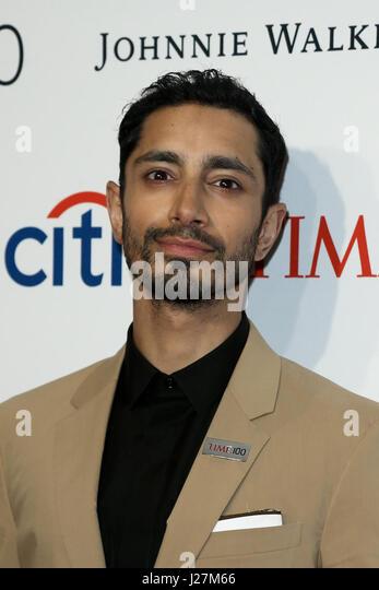 New York, USA. 25. April 2017. Schauspieler Riz Ahmed besucht die Time 100 Gala in Frederick P. Rose Hall am 25. Stockbild