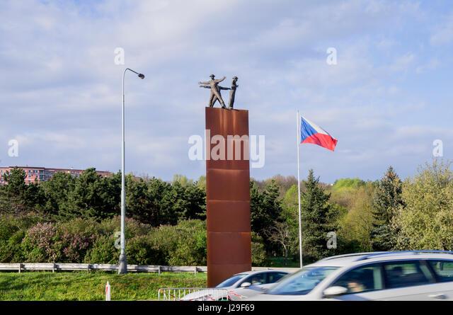 Betrieb Menschenaffen Memorial Stockbild