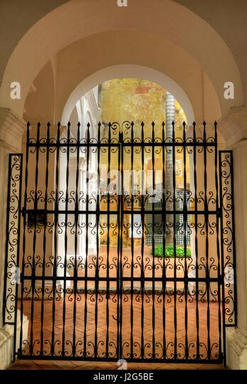 Museum für Geschichte, dies war einst Schauplatz der Qualen der spanischen Inquisition, Cartagena, Kolumbien. Stockbild