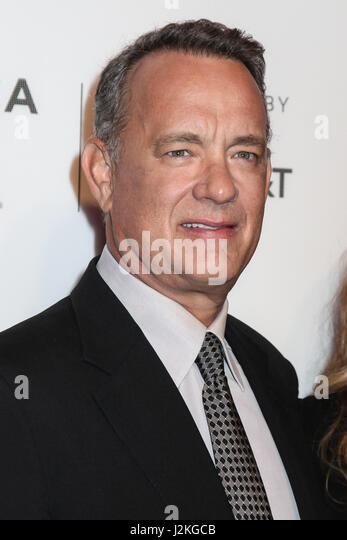 "Tom Hanks besuchen ""The Circle"" Premiere während der 2017 Tribeca Film Festival am BMCC Tribeca PAC Stockbild"