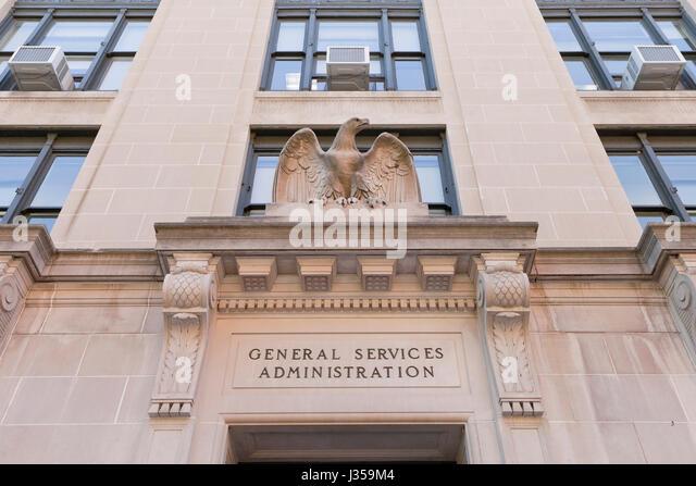 US General Services Administration Building - Washington, DC USA Stockbild