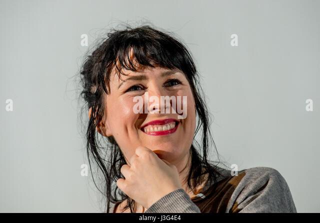 Alice Eva Lowe, Schriftstellerin und Schauspielerin Stockbild