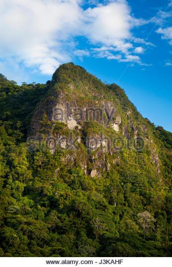 Cerro la Cruz in Altos de Campana Nationalpark, Provinz Panama, pazifischen Abhang, Republik Panama Stockbild