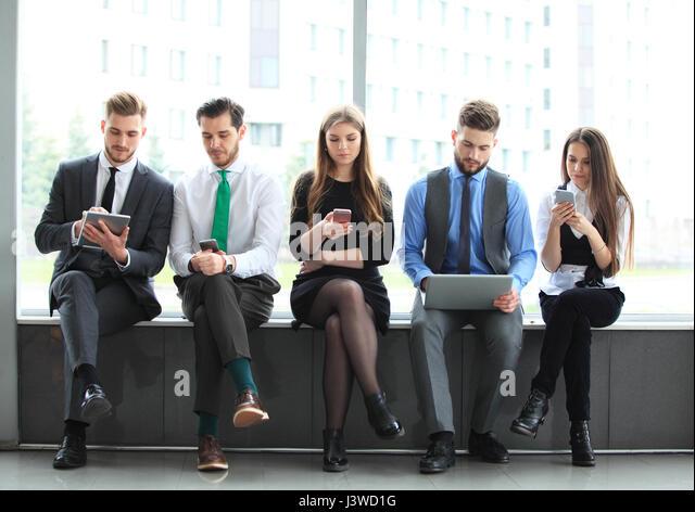 Team Büro Arbeiter Unternehmer Geschäftskonzept Stockbild