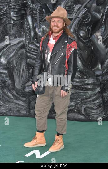 Leigh Francis, Alien-: Bund, World Premiere, Odeon Leicester Square,London.UK 04.05.17 Stockbild