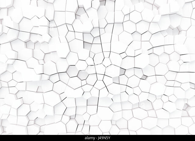 3D Hintergrund - Abstrakt 3D Illustration Stockbild