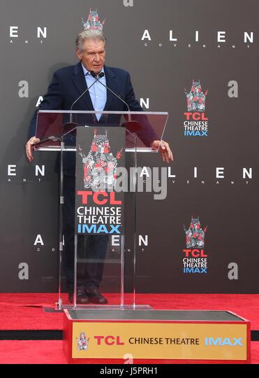 Hollywood, CA, USA. 17. Mai 2017. 17 Mai 2017 - Hollywood, Kalifornien - Harrison Ford. Sir Ridley Scott Hand- und Stockbild