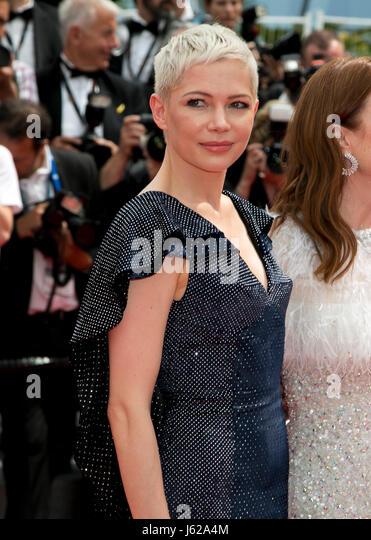 Cannes, Frankreich. 18. Mai 2017. Michelle Williams besucht die Premiere der Vorstandskollegen während der Stockbild