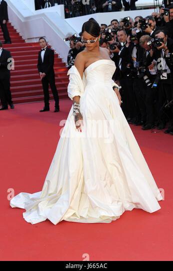 "70. Cannes Film Festival 2017, roten Teppich Film ""Okja"". Im Bild: Rihanna Stockbild"