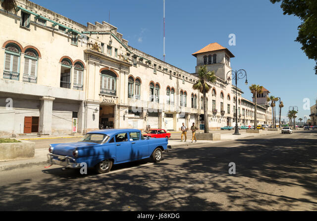 Zoll-Ansicht in Havanna, Kuba Stockbild