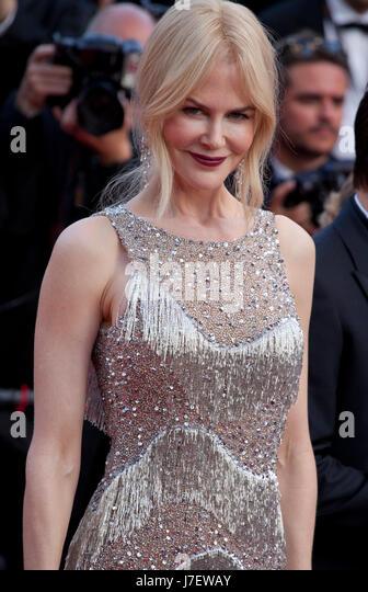 Cannes, Frankreich. 24. Mai 2017. Nicole Kidman bei The verführt Gala-Vorführung auf dem 70. Cannes Film Stockbild