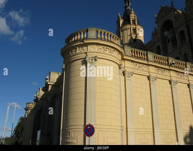 Burgmauer Stockbild