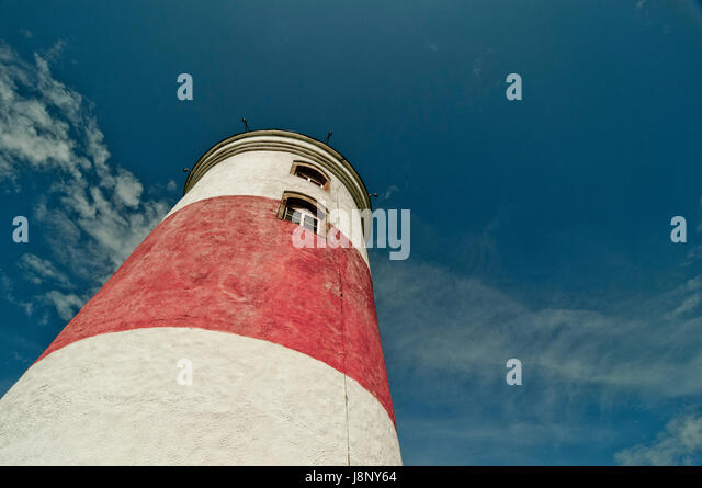 Leuchtturm gegen Himmel Stockbild