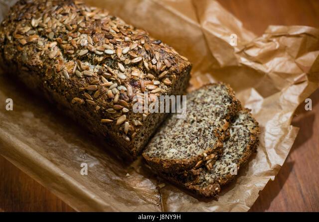 Frisch gebackenes Brot Stockbild