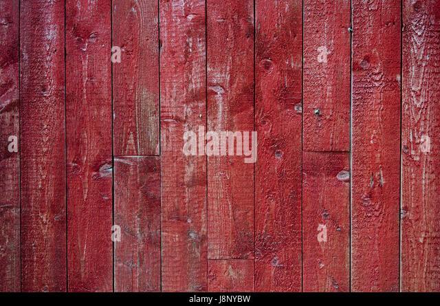 Roten Holzwand Stockbild