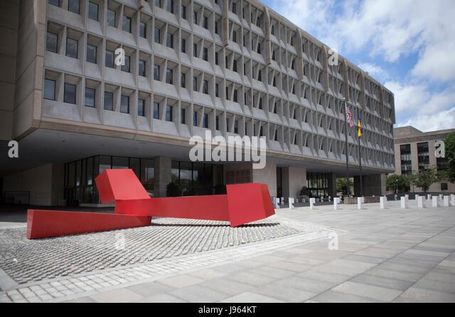 Us-Ministerium für Gesundheit und soziale Dienste Hauptquartier - Washington, Dc, USA Stockbild