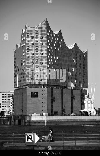 Elbphilharmonie, Hamburg, Deutschland Stockbild
