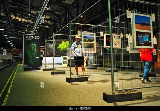 Photo + Adventure Messe 2017, Duisburg, Deutschland Stockbild
