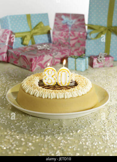 80 birthday cake stockfotos 80 birthday cake bilder alamy. Black Bedroom Furniture Sets. Home Design Ideas