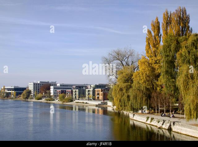 Seerhein Konstanz am Bodensee Stockbild