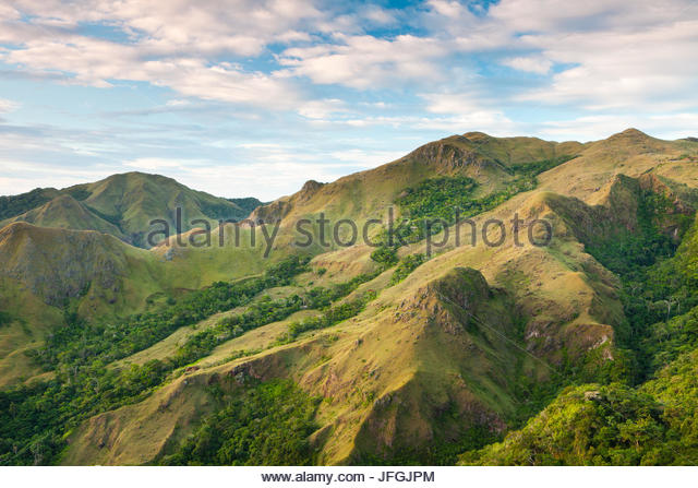 Morgen in Altos de Campana Nationalpark, Provinz Panama, Republik Panama Stockbild