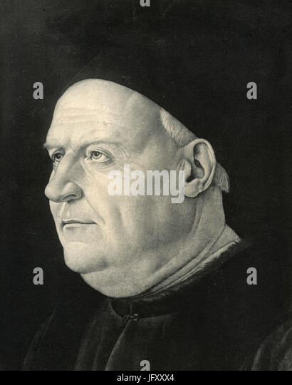 Eines venezianischen Senators, Gemälde von Buonsignori, London, UK Stockbild