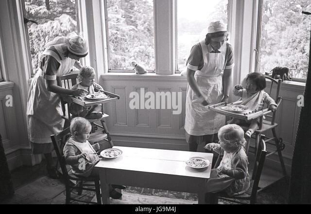 1940, England, während des Krieges, Stansted Hall, Heimat von Lady Butler (Sydney Courtauld) Ehefrau von Rab Stockbild