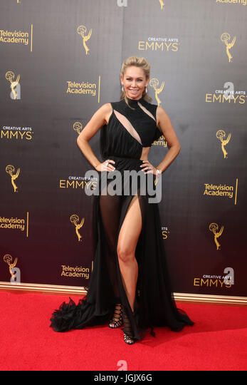 Los Angeles, CA, USA. 11. September 2016. LOS ANGELES - SEP 11: Kym Johnson in der Primetime Creative Emmy - Tag Stockbild
