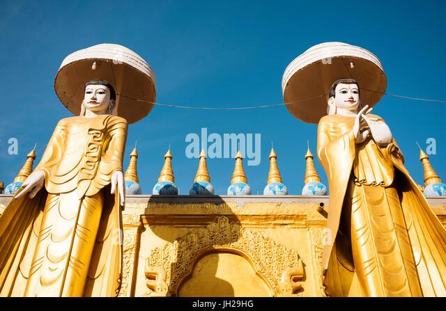 Kyaw Aung San Dar Kloster, Amarapura, Mandalay, Mandalay Region, Myanmar (Burma), Asien Stockbild