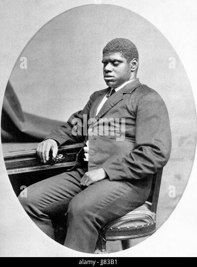 Blinde TOM WIGGINS (1849 ? 1908) afro-amerikanischer Klavier-Wunderkind um 1880 Stockbild