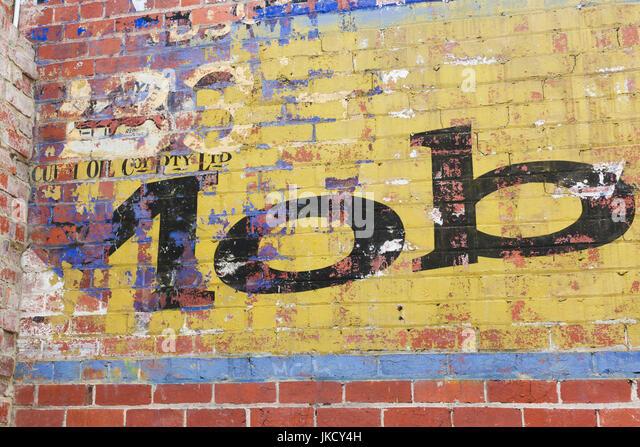 Victoria, VIC, Melbourne, Australien, St. Kilda, Wandbild Wandschild, MOB Stockbild