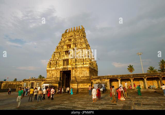 Karnataka, Indien Stockbild