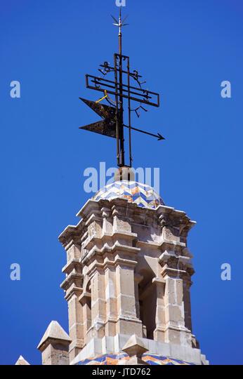 Amerika; Mexiko; Zacatecas; Jerez Stadt; Kirche Unbefleckte Empfängnis; weather vane Stockbild