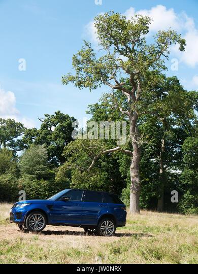 2017 Range Rover Sport SVR Stockbild