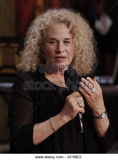 Carole King. Präsidenten der Vereinigten Staaten Barack Obama Auszeichnungen Sängerin und Songwriterin Stockbild