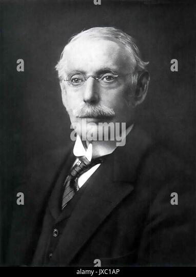 CHARLES Algernon Parsons (1854-1931), anglo-irischer Abstammung, Ingenieur Stockbild