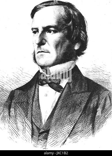 GEORGE BOOLE (1815-1964) Englischer Mathematiker Stockbild