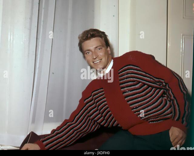 FRANK IFIELD australische Pop-sängerin 1963 Stockbild