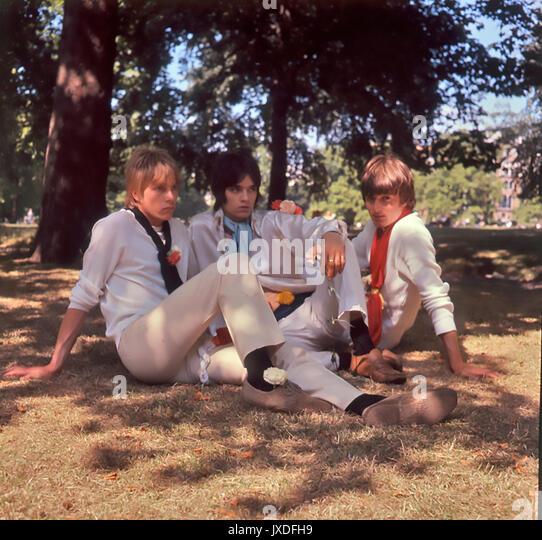 JOHN'S KINDER UK pop Gruppe in 1966 vor Marc Bolan schlossen sich ihnen Stockbild