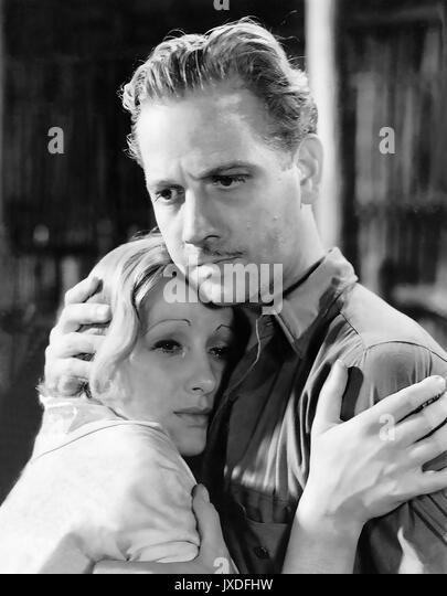 NAGANA 1933 Universal Pictures Film mit Melvyn Douglas und Tala Birell Stockbild