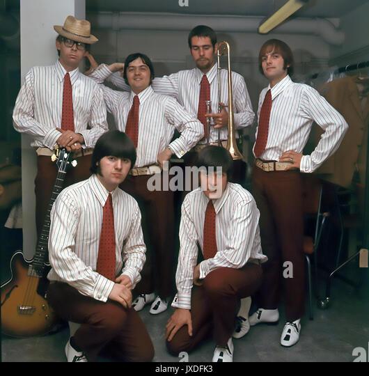 Neue VAUDEVILLE BAND UK pop Gruppe in 1966. Foto: Tony Gale Stockbild